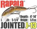 Rapala/JOINTED 【J-13】