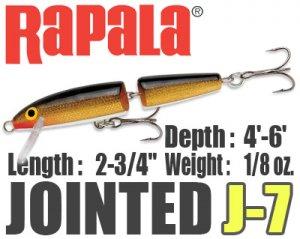 Rapala/JOINTED 【J-7】