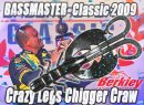 "Berkley USA/Crazy Legs Chigger Craw 4"" 【日本廃盤モデル】"