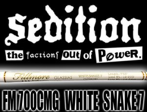 Sedition/FM 700CMG WHITE SNAKE 7