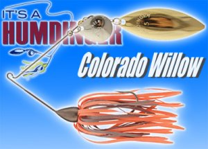 T&J Lures/HUMDINGER SPINNERBAITS 【Colorado Willow】