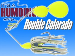 T&J Lures/HUMDINGER SPINNERBAITS 【Double Colorado】
