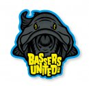 Bassers United/BUM DARK LOGO STICKER