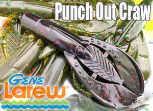 GENE Larew/Punch Out Craw 3.75""