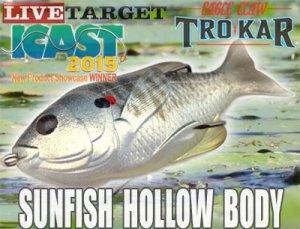 LiveTarget (ライブターゲット)/Sunfish Hollow Body サンフィッシュ ホローボディ