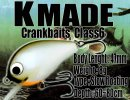 K MADE/Crankbaits Class6 【2016 今季最終入荷】