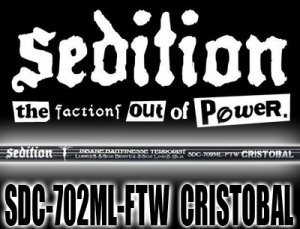 Sedition/SDC-702ML-FTW CRISTOBAL