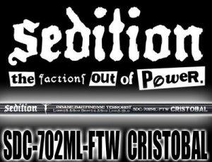 Sedition/SDC-702ML-FTW CRISTOBAL
