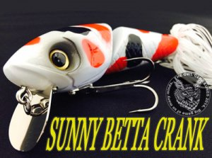 THE OWL GENE LURE'S/SUNNY BETTA CRANK
