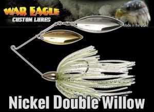 WAR EAGLE/Spinnerbait DW 【3/8oz Nickel】