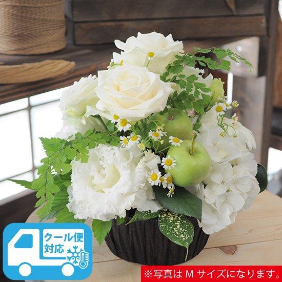生花・ラウンドアレンジメント Lサイズ