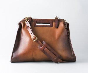 LEATHER CITY MAIL BAG