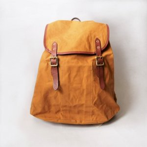CANVAS×LEATHER AMRY RUCKSACK TYPE�