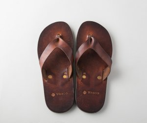 LEATHER BEACH SANDAL