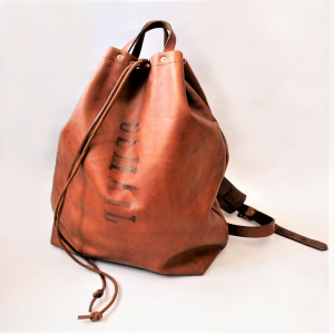 LEATHER MAIL PURSE BAG LARGE
