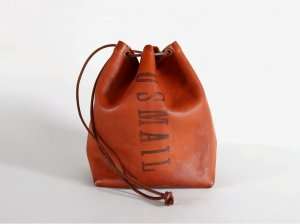 LEATHER MAIL PURSE BAG-SMALL