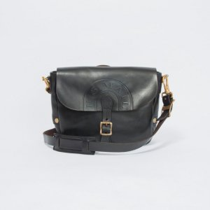 LEATHER POSTMAN SHOULDER BAG SMALL (US MAIL)