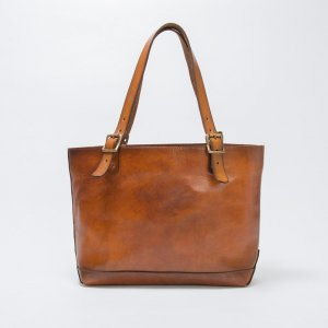 LEATHER TRAVEL TOTEBAG
