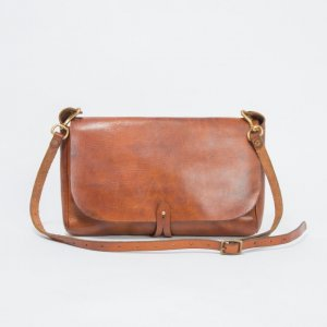 LEATHER 3WAY CLUTCH BAG
