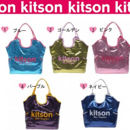KITSON キットソン★スパンコールトート