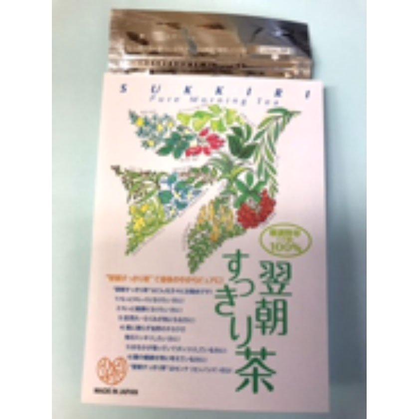 12種の厳選野草100%「翌朝すっきり茶」が大好評販売中!