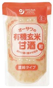 オーサワ有機玄米甘酒(粒)