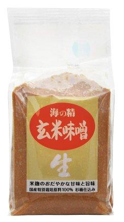 海の精・国産有機 玄米味噌