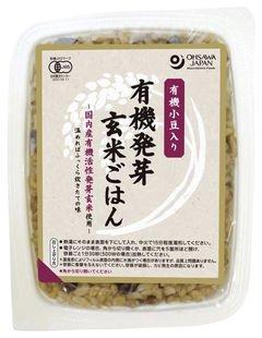 オーサワの有機発芽玄米ごはん(小豆入り)