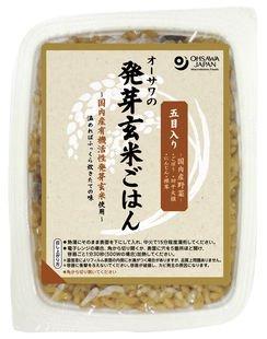 オーサワの発芽玄米ごはん(五目入り)