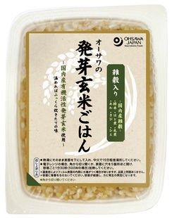 オーサワの発芽玄米ごはん(雑穀入り)