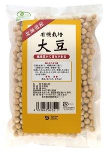 有機栽培大豆(北海道産)300g