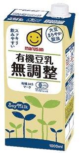 有機豆乳 無調整(1L)