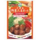 中華風野菜ミートボール