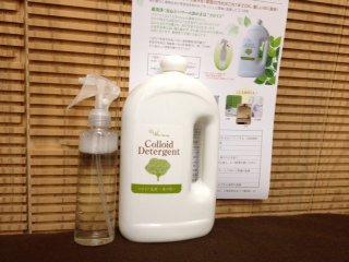 〜コロイド洗剤〜森の精(環境に優しい植物性の超強力洗浄剤)
