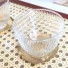 《TEA SET》 ガラスカップ&ゴールドエクラインマット