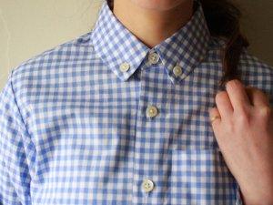 ギンガムチェックシャツ<br>Charpentier de Vaisseau