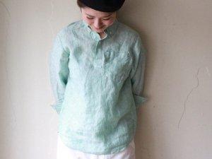 リネンプルオーバーシャツ【3色】<br>Charpentier de Vaisseau