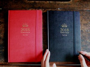 【お試し価格】2018年<br>オリジナルスケジュール帳