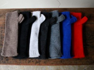 アームウォーマー【7色】<br>William Brunton Hand Knits