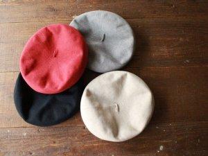 ベレー帽kie【4色】<Br>pcnqパークニック