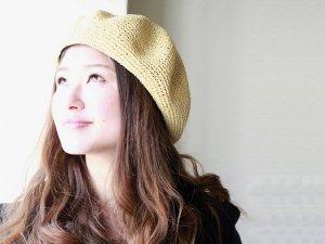 ベレー帽ten【ナチュラル色のみ】<Br>pcnqパークニック