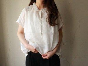 バルーンシャツ【ホワイト】<br>ARTE POVERA