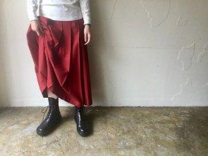 太プリーツスカート【ロング丈】<br>【3色】Charpentier de Vaisseau