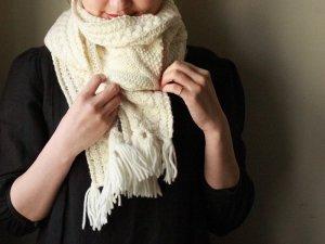 ウールマフラー<br>Aran Woolen Milles