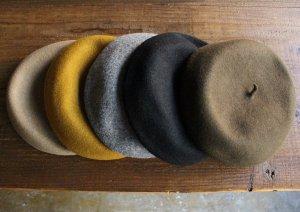 ベレー帽【5色】<br>Made in 熊本