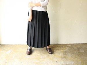 プリーツスカート【ブラック】<br>Charpentier de Vaisseau