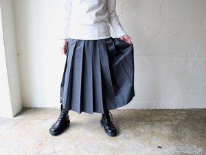 太プリーツスカート【2色】<br>Charpentier de Vaisseau