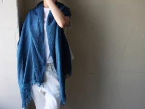 コットンウールストール【羽織】<Br>【4色】今治老舗タオル工場