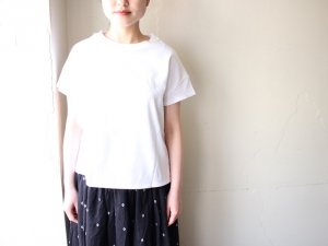 フレンチTシャツ【2色】<Br>ARTE POVERA