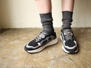 【4】リネンゆるハイソックス<br>【2サイズ】靴下職人